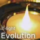 Evolution Rechargeable T-light Candle Set