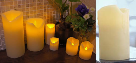 Real Wax Aroma Candle