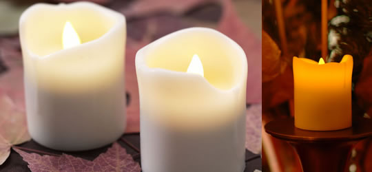 Real Silicon Candle